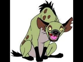 hyena laughing