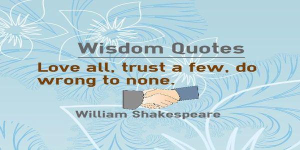 love-all-trust-few