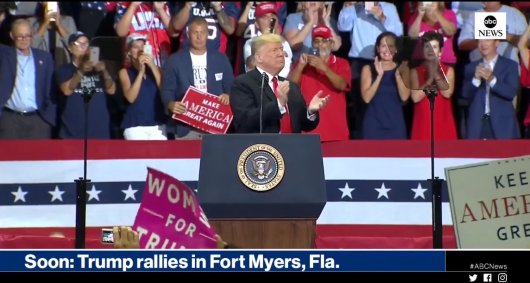 Trump Rally Florida
