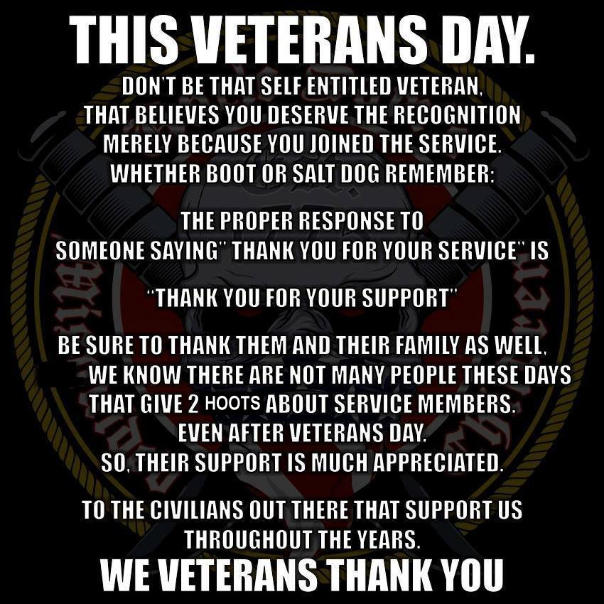 1 this veterans day