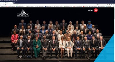 Congressional Black Caucus 2019 Membership Photo