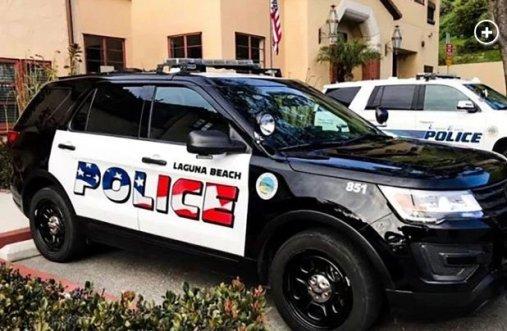 LaGuna Beach Police Vehicle 2019