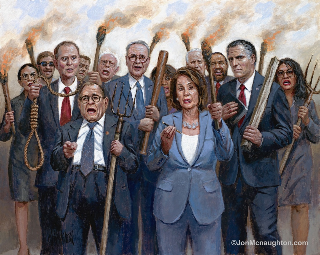 The Impeachment Mob - John McNaughton